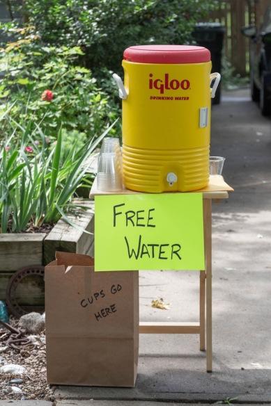 Free Water (photo by Linda Lee)
