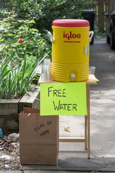 Free Water (photo by Linda Lee)