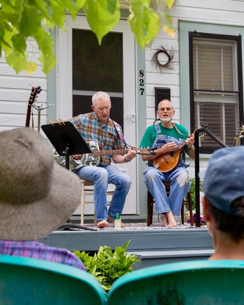 Peter Rolnick and Company (photo by Linda Lee)